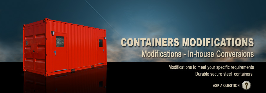 Containers Sales - Mountain View Manufacturing offers for sale both new & used containers of all sizes