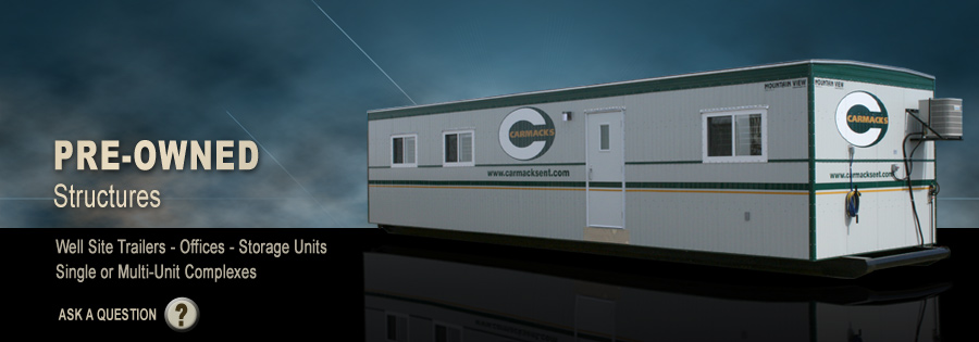 Pre-owned Structures - Mountain View Manufacturing has a wide variety of quality pre-owned modular units available for sale