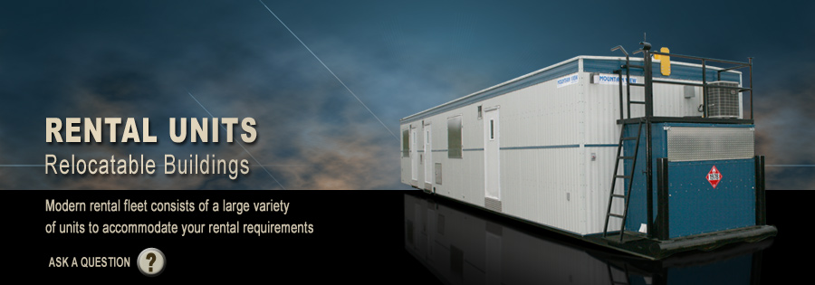 Modular Rentals - Our modern rental fleet consists of a large variety of units