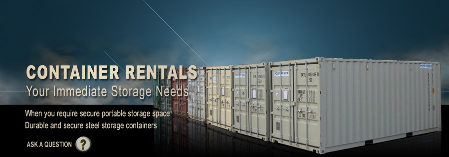 Storage Containers - When you require secure portable storage space,