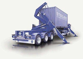 Side container lifter